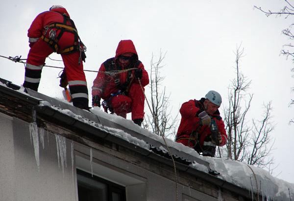 Нормы времени для очистки крыш от снега